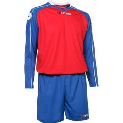 Patrick Granada305 Voetbalset Lange Mouw Heren - Rood / Royal / Wit