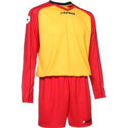 Patrick Granada305 Voetbalset Lange Mouw - Geel / Rood / Marine