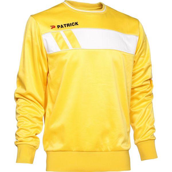 Patrick Impact Sweater Heren - Geel / Wit