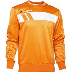 Patrick Impact Sweater Heren - Oranje / Wit