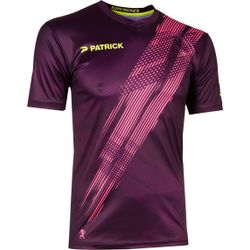 Patrick Limited Shirt Korte Mouw - Paars