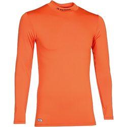 Patrick Shirt Opstaande Kraag Heren - Oranje
