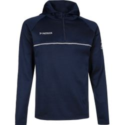 Patrick Hooded Half Zip - Marine