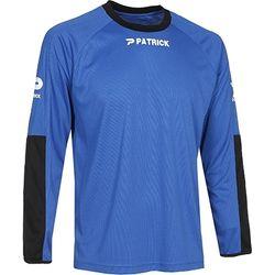 Patrick Pat180 Keepershirt Lange Mouw Heren - Blauw / Zwart
