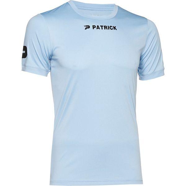Patrick Power Shirt Korte Mouw Heren - Lichtblauw