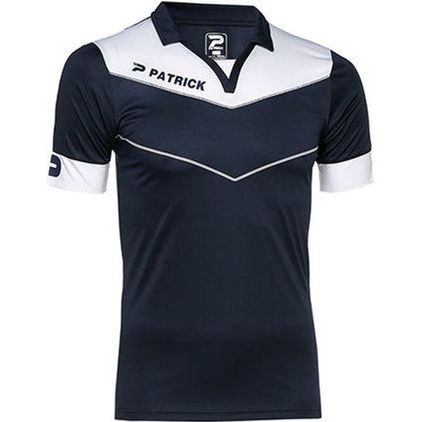 Patrick Power Shirt Korte Mouw Heren - Marine / Wit