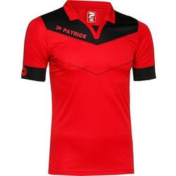 Patrick Power Shirt Korte Mouw Heren - Rood / Zwart