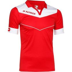 Patrick Power Shirt Korte Mouw Kinderen - Rood / Wit