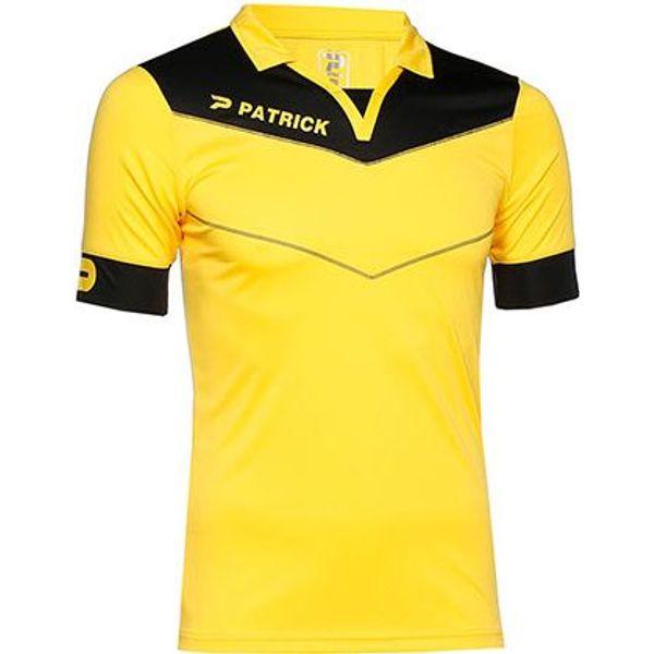 Patrick Power Shirt Korte Mouw Kinderen - Geel / Zwart