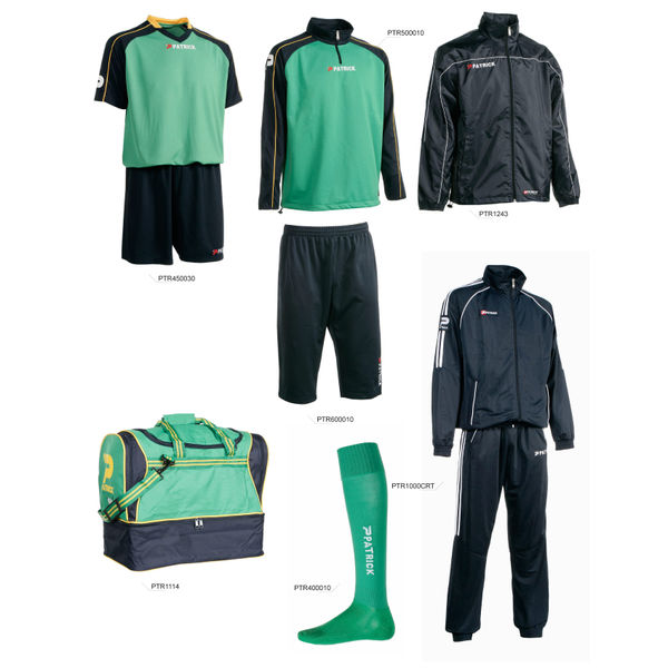 Patrick Promopakket Heren - Marine / Groen / Geel