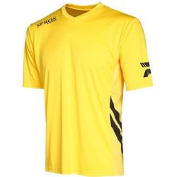 Patrick Sprox Maillot Manches Courtes Hommes - Jaune