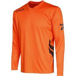 Patrick Sprox Voetbalshirt Lange Mouw Heren - Oranje