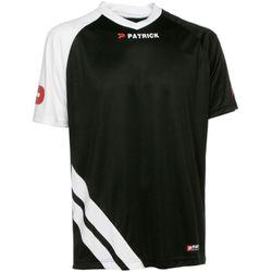 Patrick Victory Shirt Korte Mouw Heren - Zwart / Wit