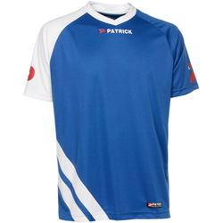 Patrick Victory Shirt Korte Mouw Heren - Royal / Wit