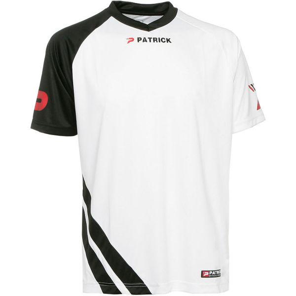 Patrick Victory Shirt Korte Mouw Heren - Wit / Zwart