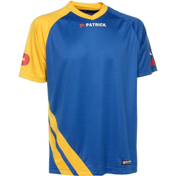 Patrick Victory Shirt Korte Mouw Heren - Royal / Geel