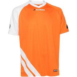 Patrick Victory Maillot À Manches Courtes Hommes - Orange / Blanc