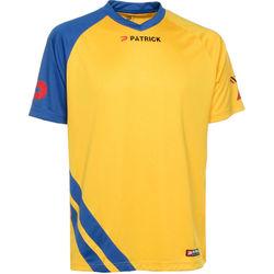 Patrick Victory Shirt Korte Mouw Heren - Geel / Royal