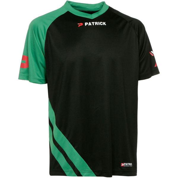 Patrick Victory Shirt Korte Mouw Heren - Zwart / Groen