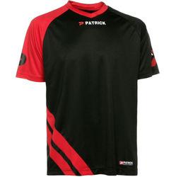 Patrick Victory Shirt Korte Mouw Heren - Zwart / Rood