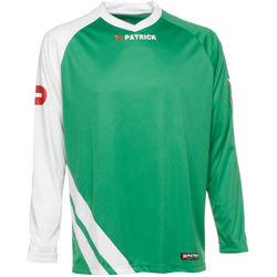 Patrick Victory Voetbalshirt Lange Mouw Heren - Groen / Wit