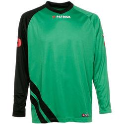 Patrick Victory Voetbalshirt Lange Mouw Kinderen - Groen / Zwart