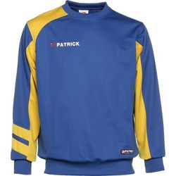Patrick Victory Sweater Heren - Royal / Geel