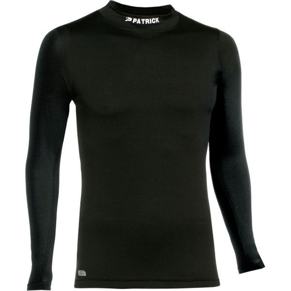 Patrick Skin Shirt Opstaande Kraag Kinderen - Zwart