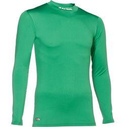 Patrick Skin Shirt Opstaande Kraag Heren - Groen