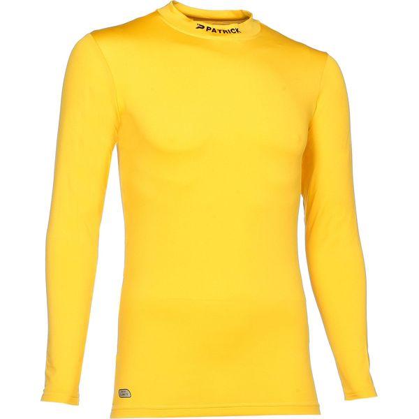 Patrick Skin Shirt Opstaande Kraag Heren - Geel