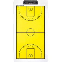 Proact Basket Tactiekbord - Geel / Wit