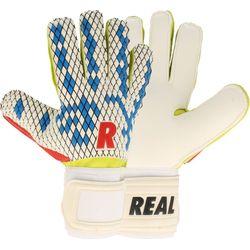 Real Fun Blue Keepershandschoenen Heren - Wit / Royal / Rood / Groen