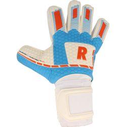 Voorvertoning: Real White Force Keepershandschoenen - Wit / Lichtblauw / Rood