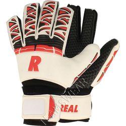 Real Pro Grip Keepershandschoenen Kinderen - Wit / Rood / Zwart