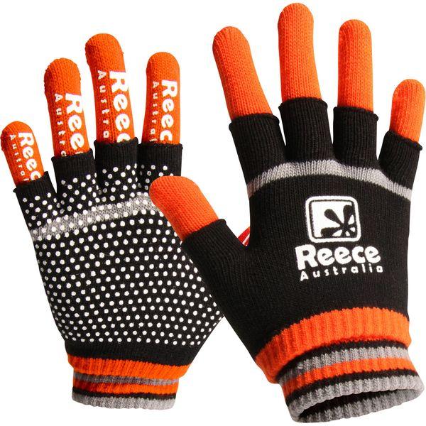 Reece 2 In 1 Spelershandschoenen - Zwart / Oranje