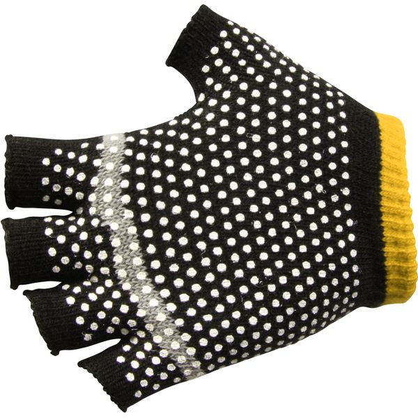 Reece 2 In 1 Spelershandschoenen - Zwart / Geel