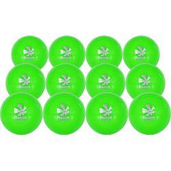 Reece Street (12 Pcs) Ballon De Hockey - Vert Fluo