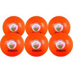 Reece Asm Dimple Adapta (6 Pcs) Ballon De Hockey - Orange