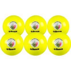Reece Asm (6 Pcs) Ballon De Hockey - Jaune
