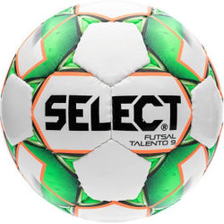 Select Futsal Talento 9 Football Enfants - Blanc / Vert / Orange