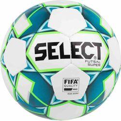 Select Futsal Super Voetbal - Wit / Fluo Groen