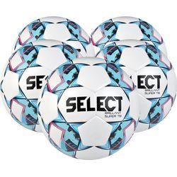 Select Brillant Super Tb 5X Lots De Ballons Hommes - Blanc