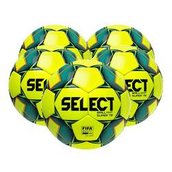 Select Brillant Super Tb 5X Lots De Ballons Hommes - Jaune Fluo