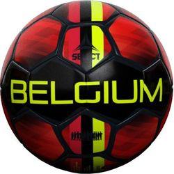 Select Belgium 2021 Ballon D'entraînement - Noir / Jaune / Rouge