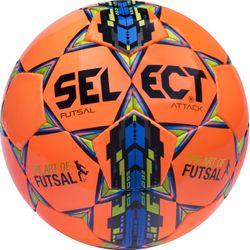 Select Futsal Attack Football - Orange / Vert / Bleu