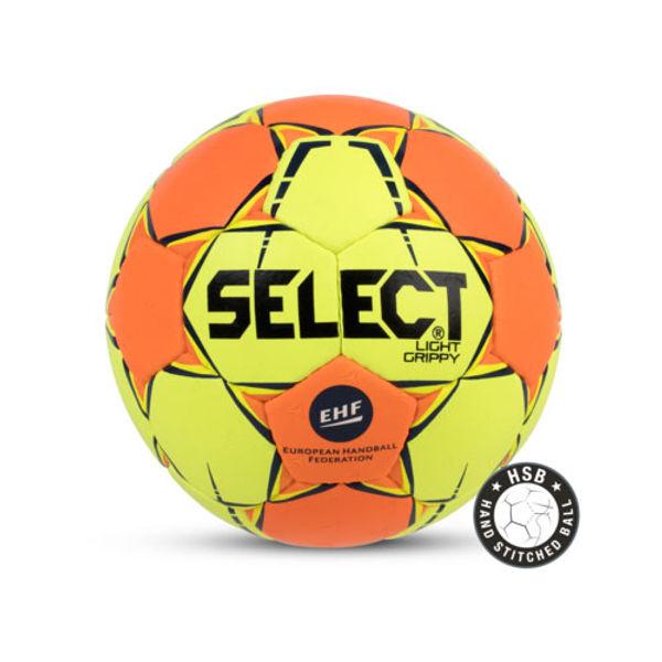 Select Light Grippy Handbal Kinderen - Geel / Oranje