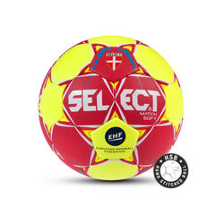 Select Match Soft Handbal - Rood / Geel