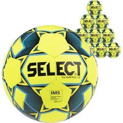 Select Numero 10 10X Lots De Ballons - Jaune Fluo