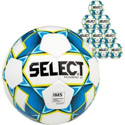 Select Numero 10 10X Lots De Ballons - Blanc