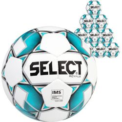 Select Royale 10X Lots De Ballons - Blanc / Bleu Clair